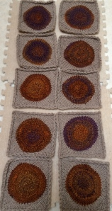 Ten blocked squares, almost dry!