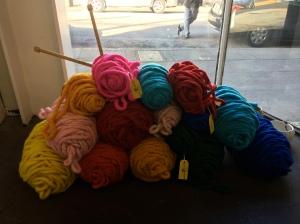Huge yarn!