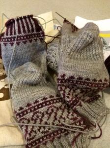 Beginning of Knit Night