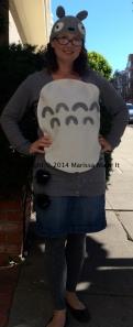 Impromptu Totoro costume!