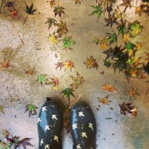 Me in the rain.