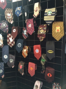 Geeky neckties for your favorite fandom!  By Pepe and Ale, https://www.etsy.com/shop/Muluk